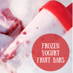 frozen yogurt fruit bars