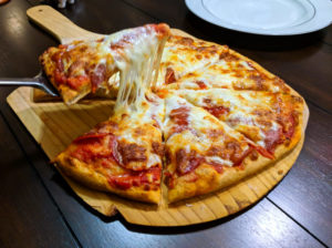 Healthy Home Made Pizza