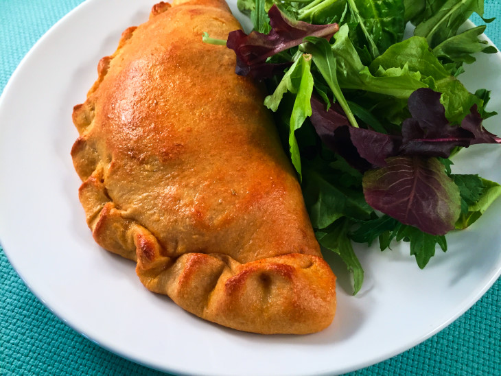 Healthy Greek Calzones