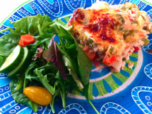 Clean Eating Lasagna Primavera