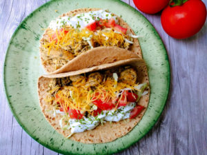 Cool Ranch Chicken Tacos