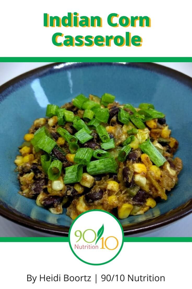 healthy indian corn casserole