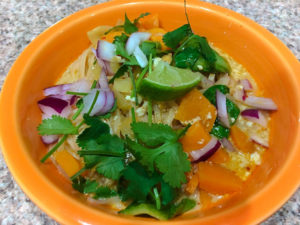 healthy Thai Curry Vegetable Noodle Soup