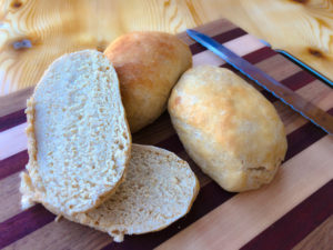 Whole Wheat Soft Hoagie Rolls