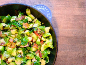 Bacon and Brussels Sprouts