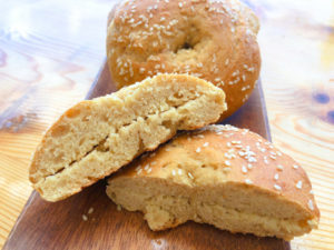 easiest whole wheat bagel recipe