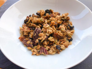 healthy Cranberry-Date Granola